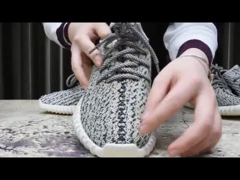 Real Vs Fake:Adidas Yeezy Boost 350 Turtle Dove