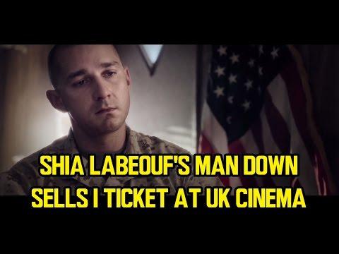 Shia LaBeouf's MAN DOWN sells 1 ticket at UK cinema