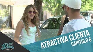 Cangri tiene una atractiva nueva clienta   Los Perlas
