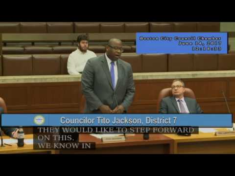 Boston City Council Meeting on June 14, 2017