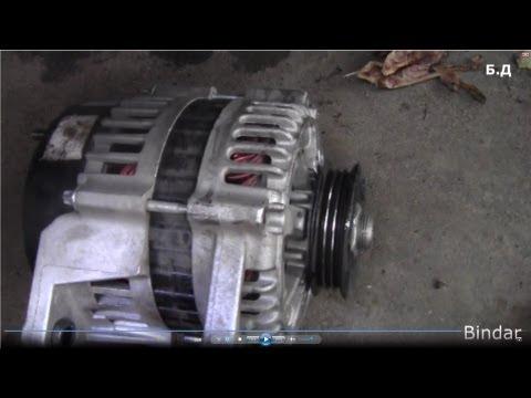 Как снять генератор на дэу матиз видео