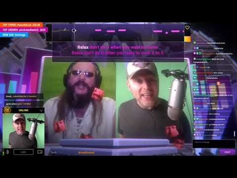 Twitch Sings: Relax By Frankie Goes To Hollywood