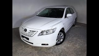 Automatic 4cyl Sedan Toyota Camry Ateva 2007 Review For Sale