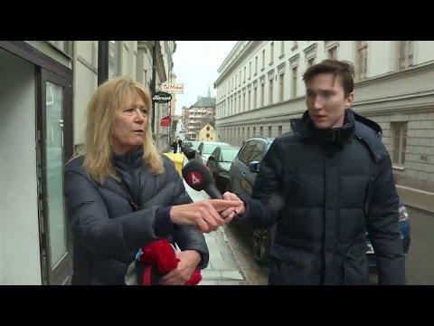 """Hon såg gärningsmannen och hörde """"oerhört obehagliga skrik"""" - Nyheterna (TV4)"""