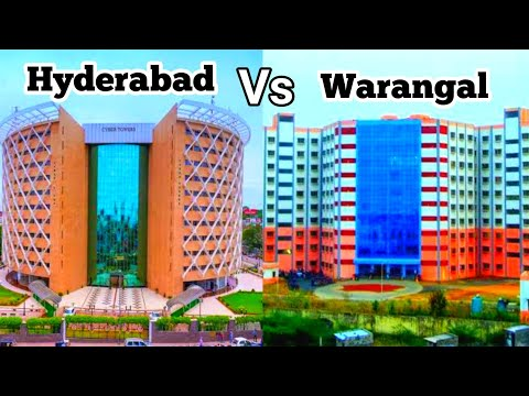 Hyderabad city vs Warangal City// two best cities difference