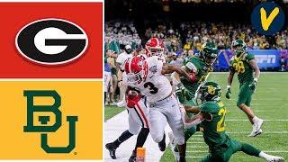 #5 Georgia vs #7 Baylor Highlights | 2020 Sugar Bowl Highlights | College Football