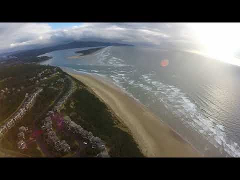 Hang gliding two flights at Oceanside March 4th 2018