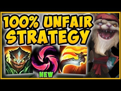 NEW HAIL OF BLADE MAKES KLED 100% UNKILLABLE?? HAIL OF BLADES KLED TOP SEASON 9 - League of Legends