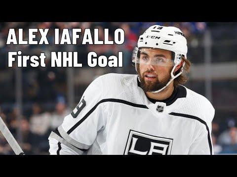 Alex Iafallo (Los Angeles Kings) first NHL goal 04.11.2017