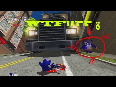 Big The Cat Kills Sonic!! Sonic Adventure 2 HD [Ps3]
