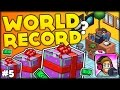 WORLD RECORD FOR THE MOST GIFTS IN THE GAME?? UNBOXING 4000 GIFTS!! (PewDiePie Tuber Simulator #5)