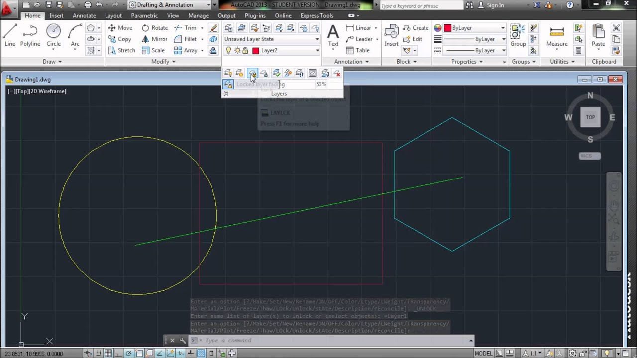 Autocad Layer Express Tool Youtube