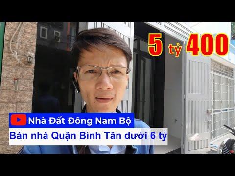Video nhà bán Hẻm xe hơi 6m Đường số 5 Bình Hưng Hòa quận Bình Tân mới xây cực đẹp