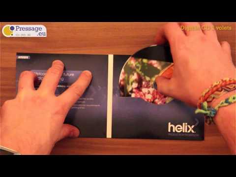 PRESSAGE.EU - Conditionnement : Digifile CD 2 volets