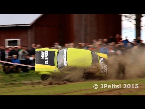 Rallying in Finland 2015 by JPeltsi (crash, action...)