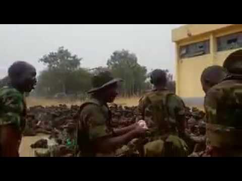 Nigeria Army training