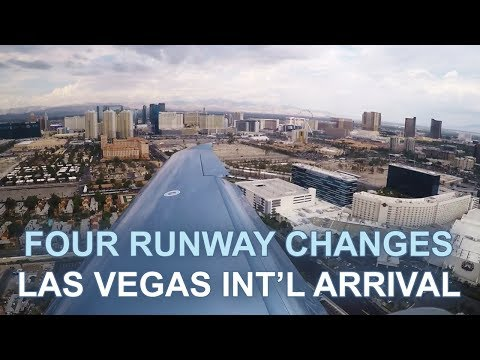 Epic ATC Confusion During a Major Storm at Las Vegas in a Small Plane