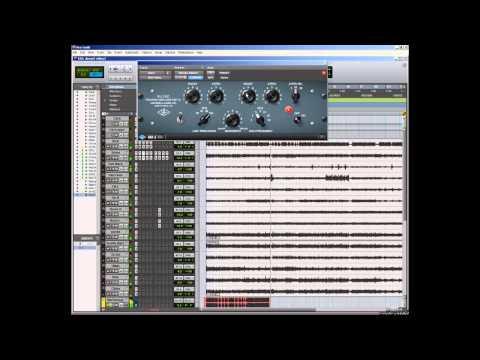 Mundano Records Acustic Drums & UAD 2 Plugins