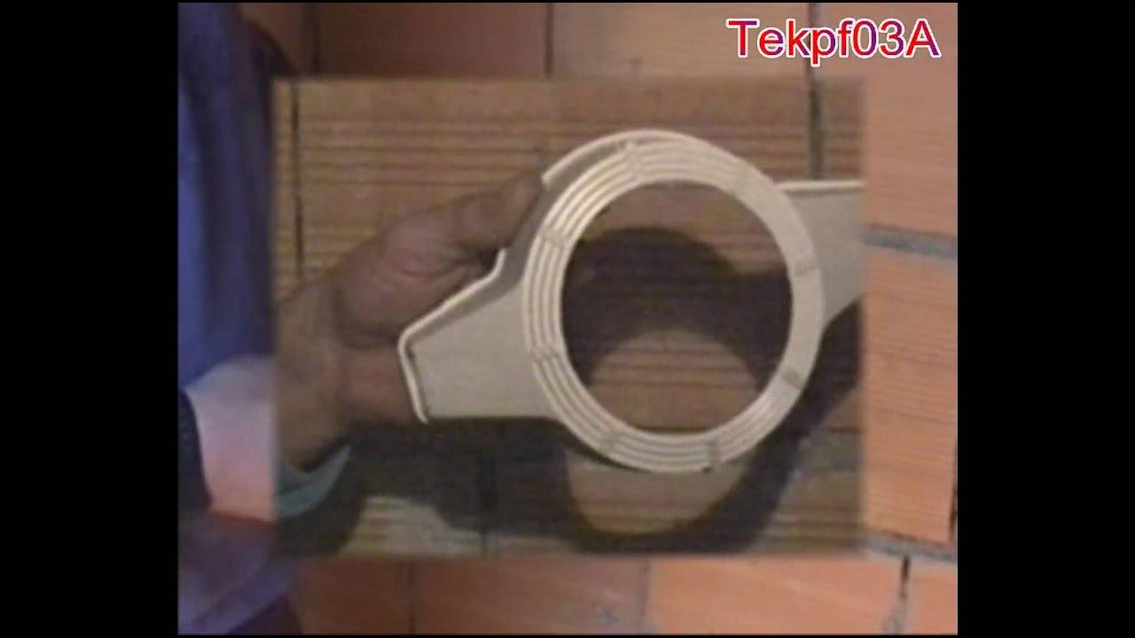 Installazione scatola porta faretto nei soffitti in - Portapentole da soffitto ...