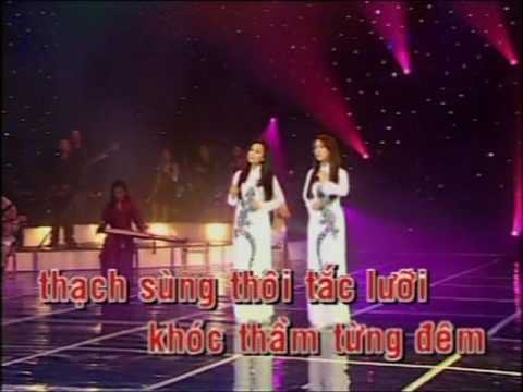 Vietnamese Karaoke Songs  Tieng Thach Sung  Quynh Huong