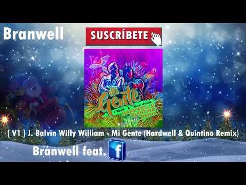 [V1] J Balvin Willy William Mi Gente (Hardwell & Quintino Remix)