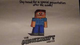 "Stay Tuned For A Special Presentation After The Movie From ""The Minecraft Movie"""