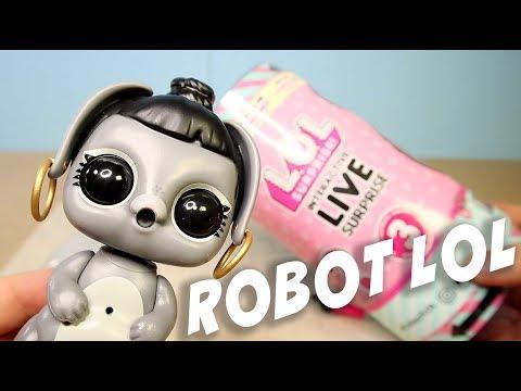 видео: ЛОЛ Интерактивный Питомец lol Робот
