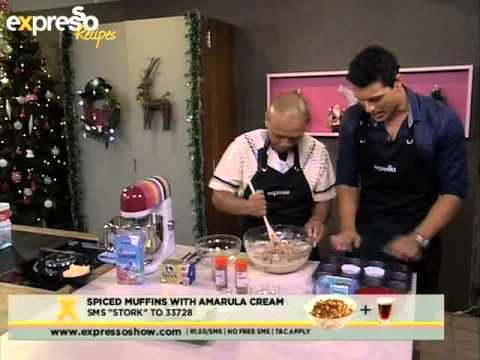 Stork: Spiced muffins with amarula cream (18.12.2012)