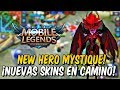 NUEVO HÉROE Mystique + 10 nuevas SKINS (Selena, Moon, Jawhead) Mobile Legends!