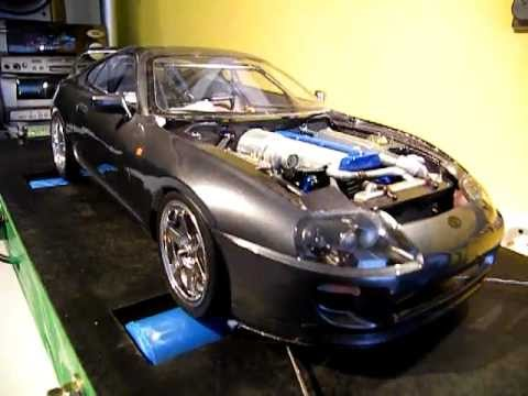 Rc Projects Custom Made Supra On Dyno Youtube