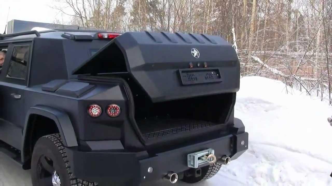 Kombat T98 Luxury Vehicle With Heavy Armor Youtube