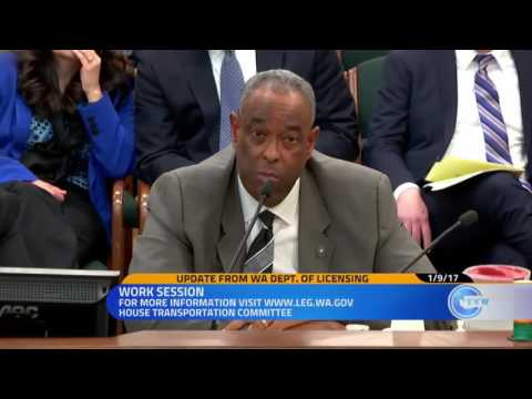 WSP Presents to House Transportation Committee