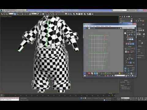 Cartoon Character For Production 3DMax (Mapping) : 02 (17)