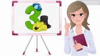 Урок 52 Математика 1 клас. Таблиці додавання і віднімання числа 3. Частина 2