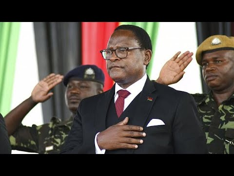 Malawi president invested, makes key appointments