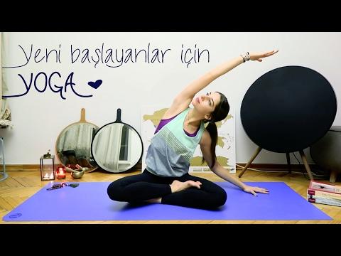 YOGA ♥ Yeni Başlayanların Evde Yapabileceği Başlangıç Seviye Dersi