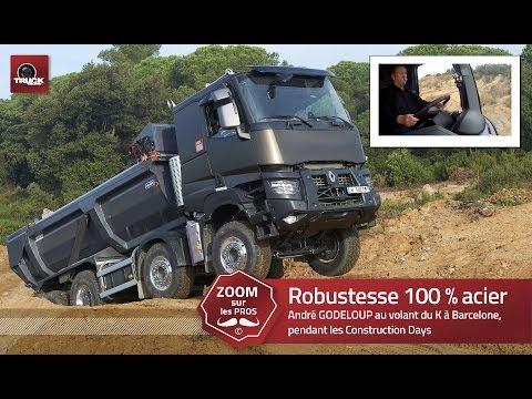 RENAULT TRUCKS K : la robustesse 100 % acier