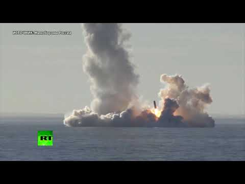 «Юрий Долгорукий» произвёл успешный залповый пуск ракет «Булава» — видео Минобороны России