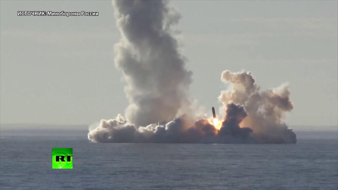Впервые запущено одновременно четыре МБР «Булава»