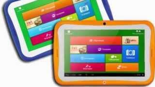 видео Развивающий детский планшет LG KidsPad