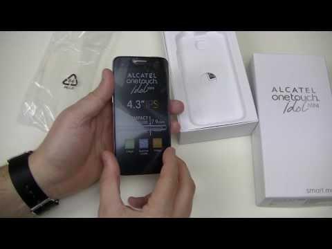 Alcatel One Touch Idol Mini - déballage | par Top-For-Phone.fr