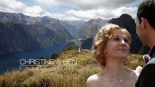 New Zealand, Milford Sound Destination Wedding Video  ⎢ Short Feature by Sunshine Wedding Films