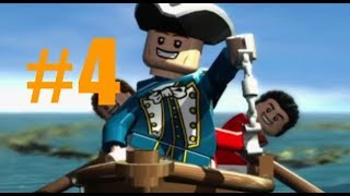 LEGO Pirates of the Caribbean #4 smugglers den (walkthrough) Xbox one (curse of the black pearl)