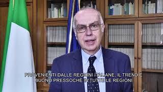 Report monitoraggio 18-24 maggio, il commento di Gianni Rezza
