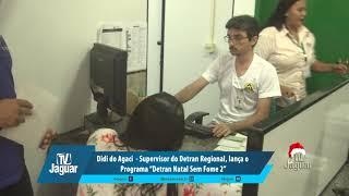 """Didi do Agaci - Supervisor do Detran Regional, lança o Programa """"Detran Natal Sem Fome 2""""."""