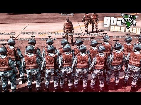 GTA 5 RP – Самая жесткая тренировка в Армии