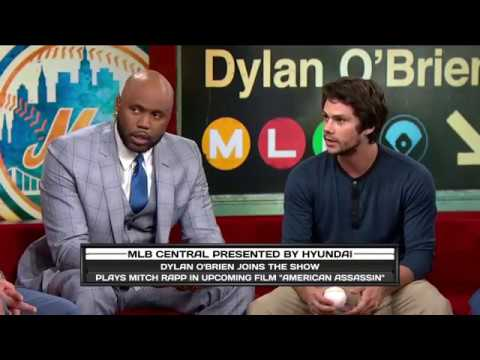 Film star Dylan O'Brien joins MLB Central (Sep 5, 2017)
