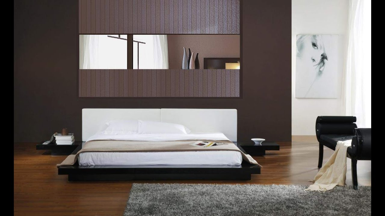 Low Platform Bed Frame Design Ideas YouTube