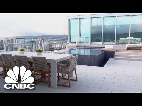 Go Inside The Most Expensive Penthouse In Hawaii | Secret Lives Super Rich | CNBC Prime