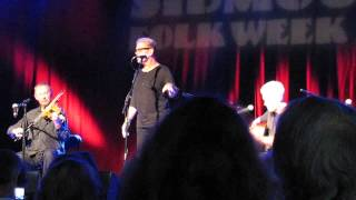 Molly Bond - Oysterband acoustic Sidmouth August 2014 MVI 1406